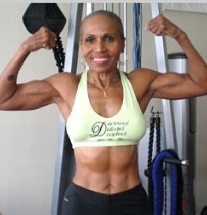 74 Year Old Body Builder with the Body of a 20 Year Old