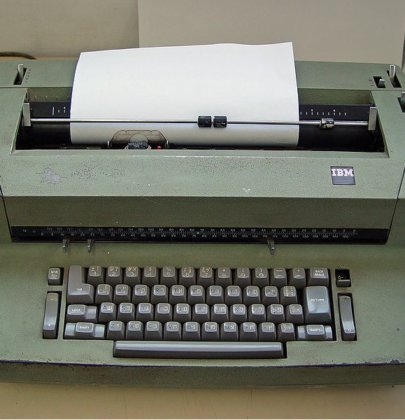 Anybody Remember Typewriters?